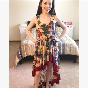 Super High-Low Beautiful Dress